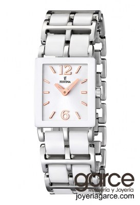 Reloj Festina Ceramic F16625/2 rectangular